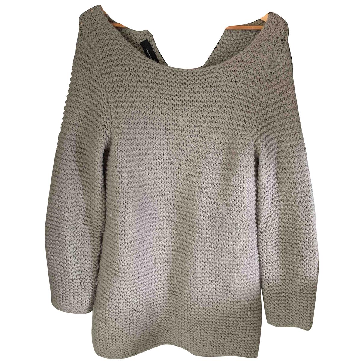 Isabel Marant N Grey Wool Knitwear for Women M International