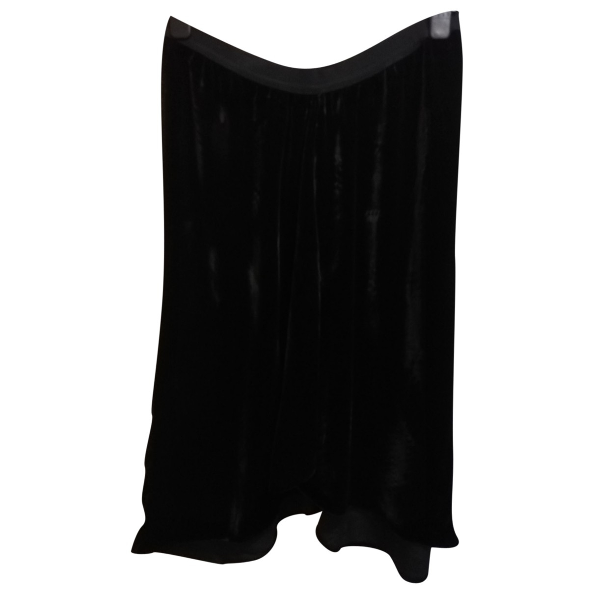 Falda midi de Seda Isabel Marant