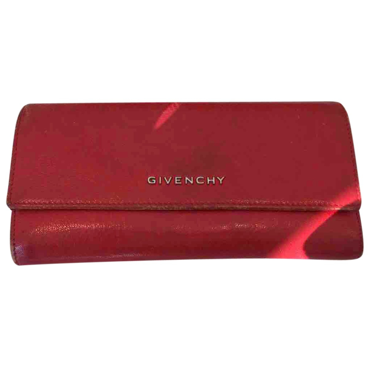 Givenchy N Red Leather Purses, wallet & cases for Women N