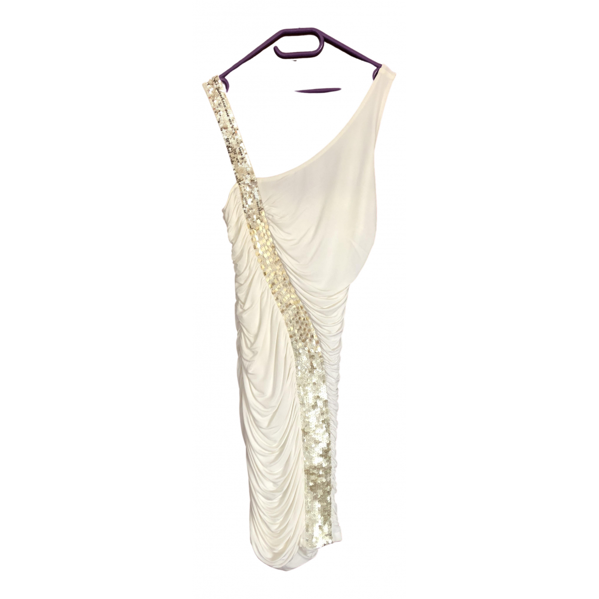 Pinko \N Kleid in  Weiss Polyester