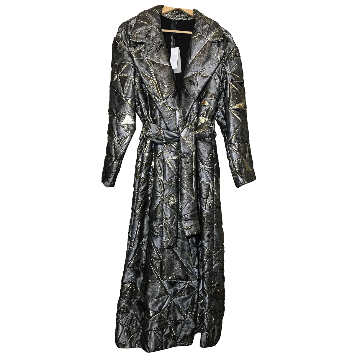 Non Signé / Unsigned \N Multicolour coat for Women 8 US