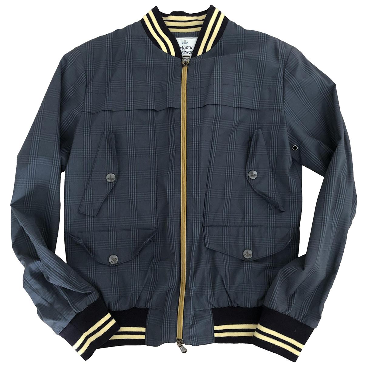 Vivienne Westwood \N Navy Cotton jacket  for Men 44 FR