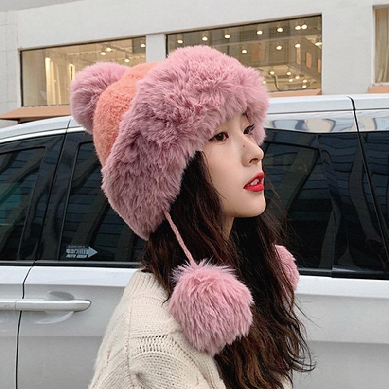 Ericdress Plain Knitted Hat Sweet Fall Hats