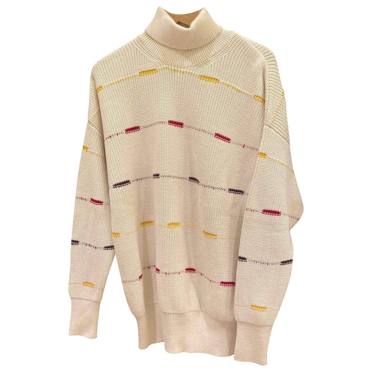 Relive \N Pullover.Westen.Sweatshirts  in  Beige Wolle