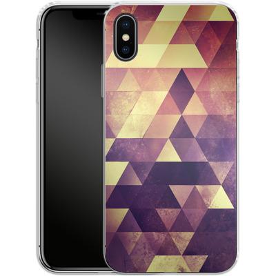 Apple iPhone X Silikon Handyhuelle - Myyk Lyyv von Spires