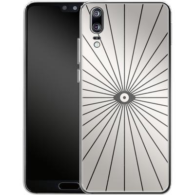 Huawei P20 Silikon Handyhuelle - Big Brother von Florent Bodart