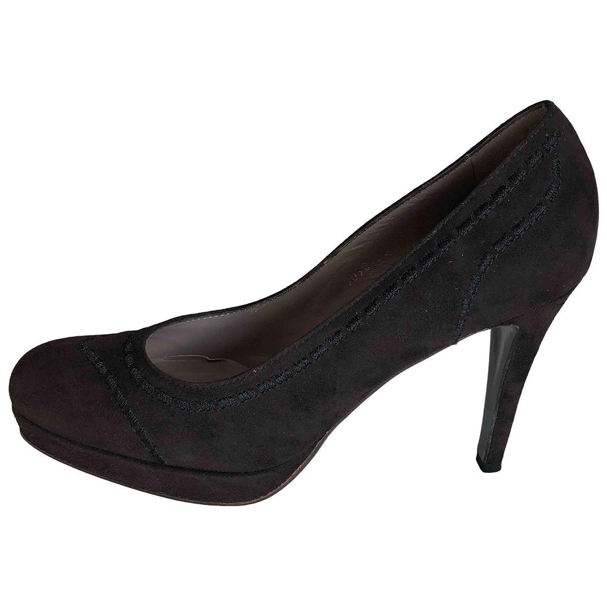 Autre Marque N Brown Suede Sandals for Women 38 EU