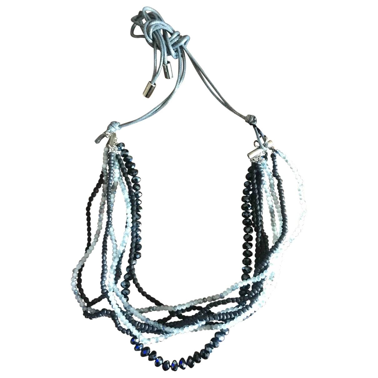 Peserico \N Kette in  Blau Perlen