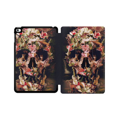 Apple iPad mini 4 Tablet Smart Case - Jungle Skull von Ali Gulec