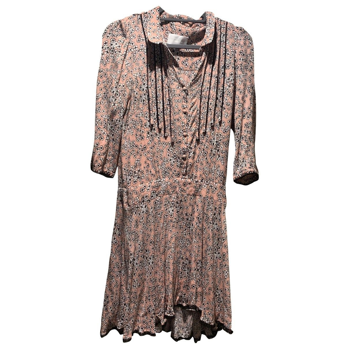 Zadig & Voltaire \N Multicolour Cotton dress for Women 38 FR