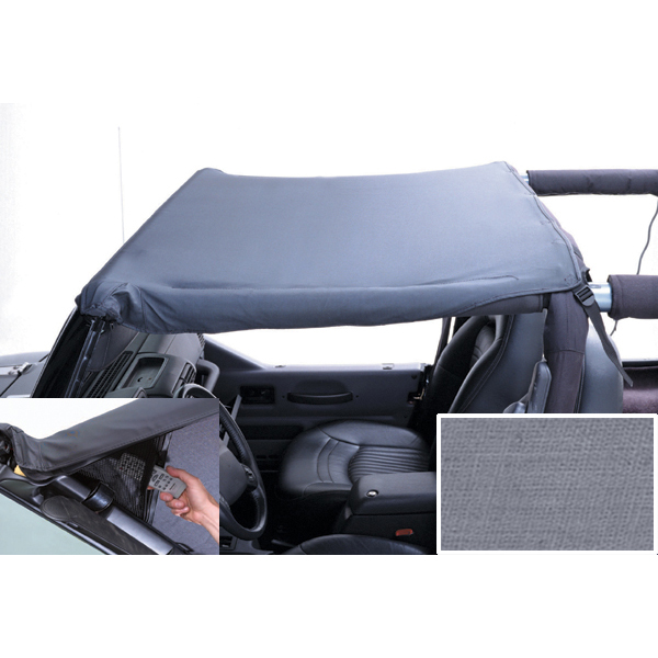 This gray Pocket Brief from Rugged Ridge 13584.09 fits 92-95 Jeep Wrangler YJ. Jeep Wrangler 1992-1995