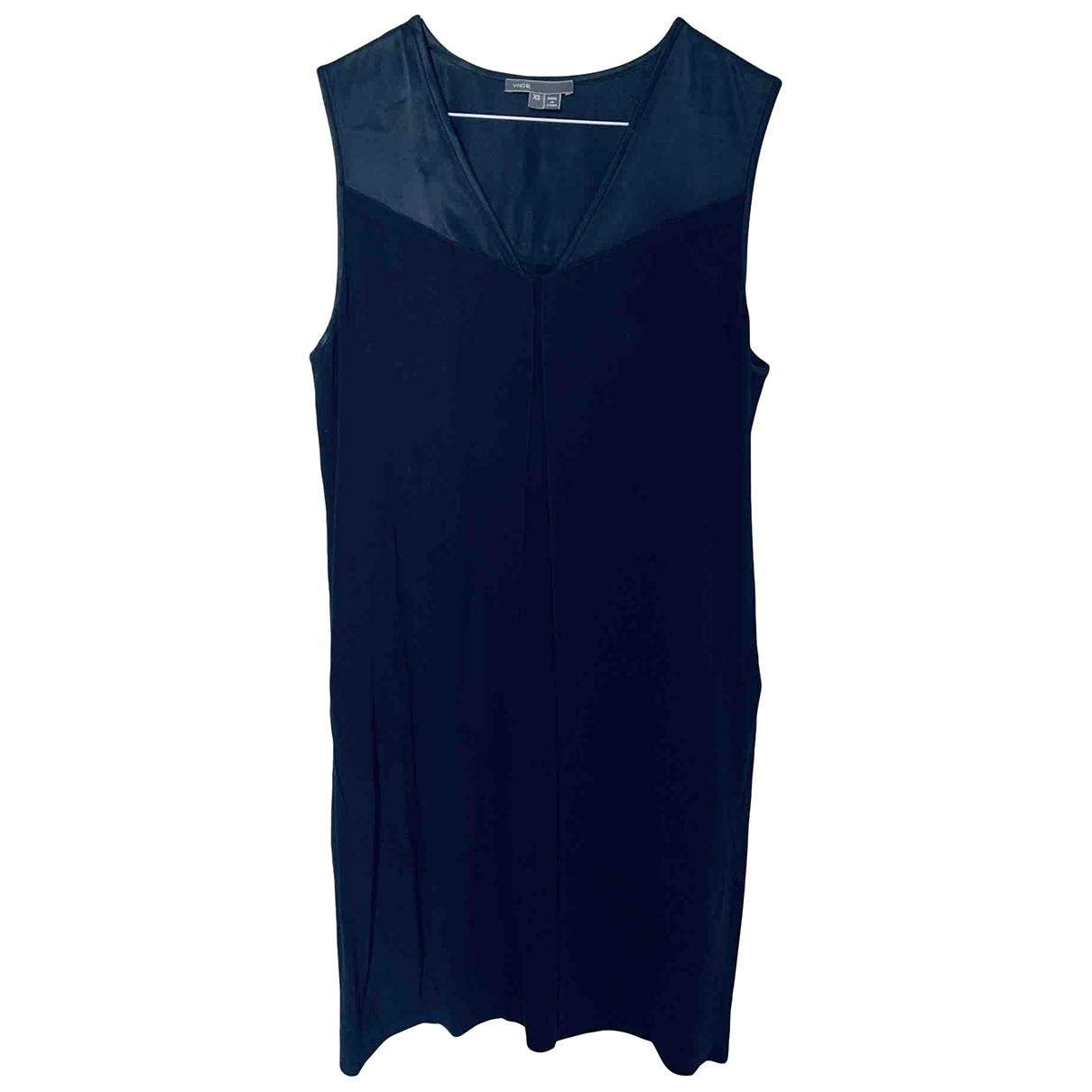 Vince \N Navy dress for Women XS International