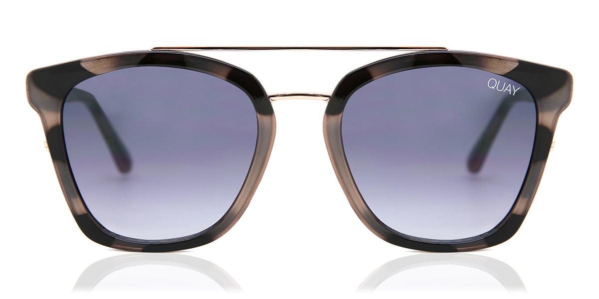 Quay Australia QW-000505 SWEET DREAMS MILKYTORT/SMKFD Men's Sunglasses Tortoise Size Standard