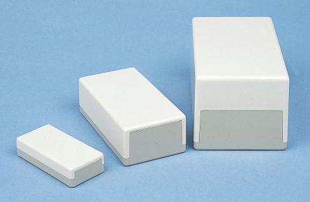 OKW Grey, White ABS Enclosure, IP40, 189 x 110 x 70mm