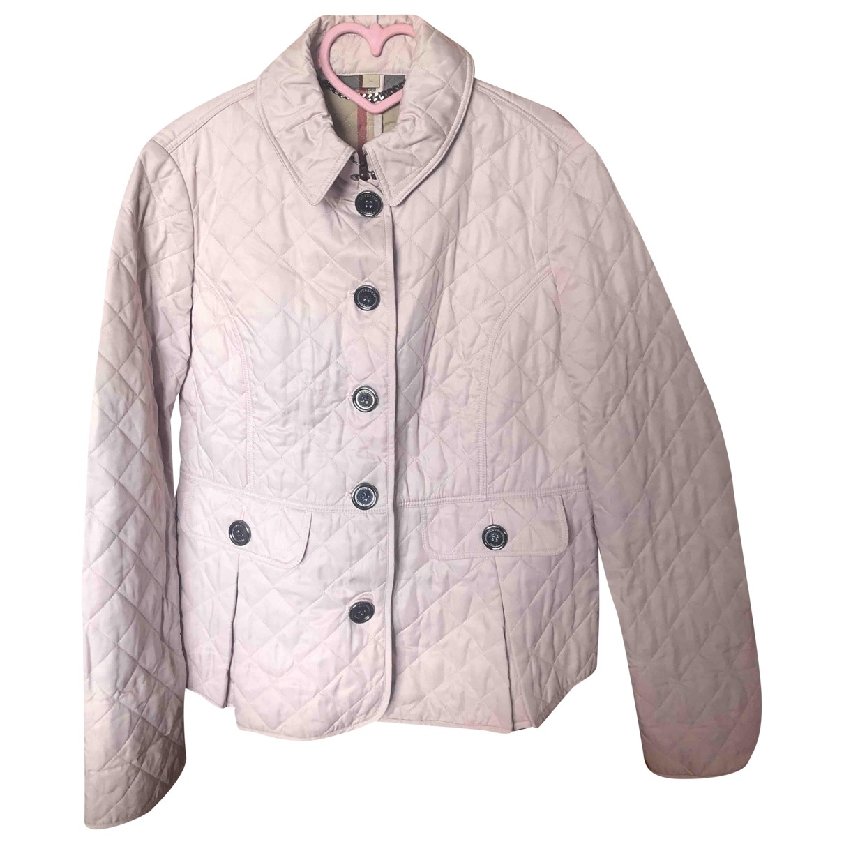 Burberry - Veste   pour femme - rose