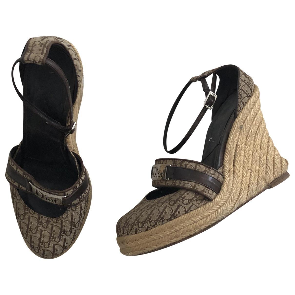 Dior \N Sandalen in Leinen