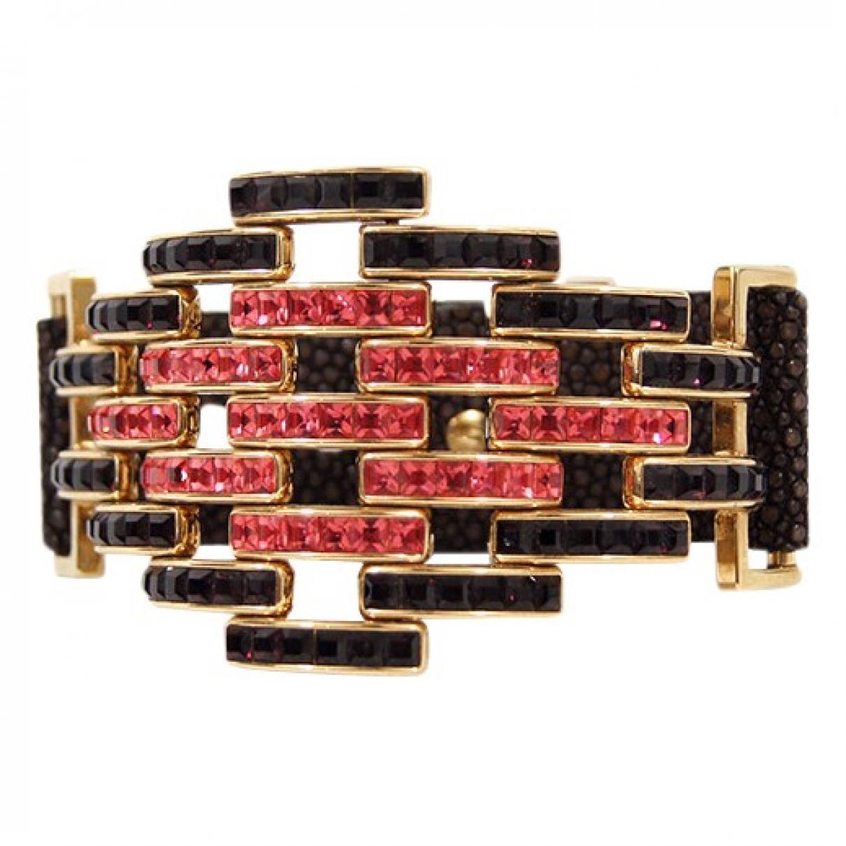 Louis Vuitton - Bracelet   pour femme en metal - noir
