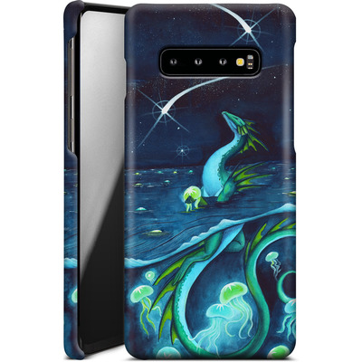 Samsung Galaxy S10 Plus Smartphone Huelle - Carla Morrow - Sea of Stars von TATE and CO