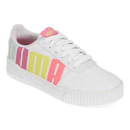 Puma Carina Womens Training Shoes, 8 Medium, White