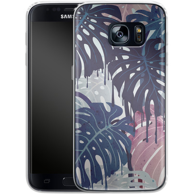 Samsung Galaxy S7 Silikon Handyhuelle - Monsteramelt von Little Clyde