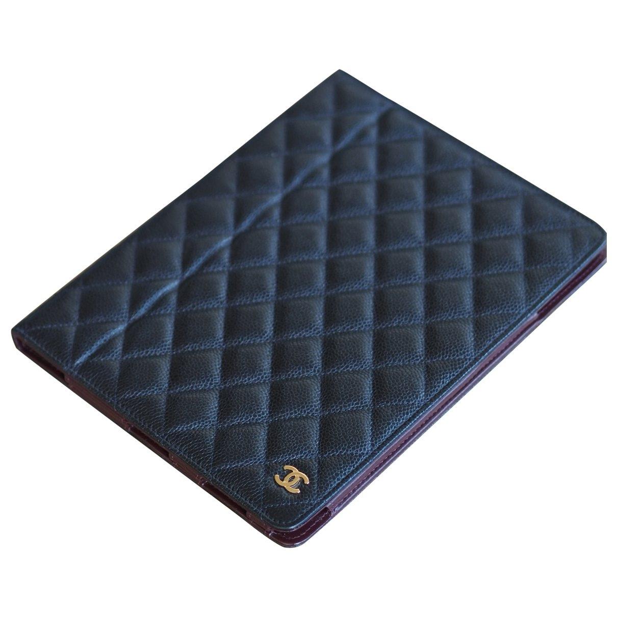 Chanel \N Accessoires in  Schwarz Leder