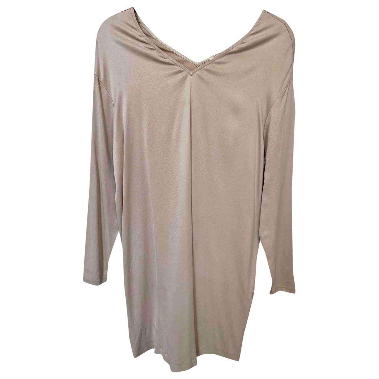 American Vintage \N Kleid in  Beige Baumwolle