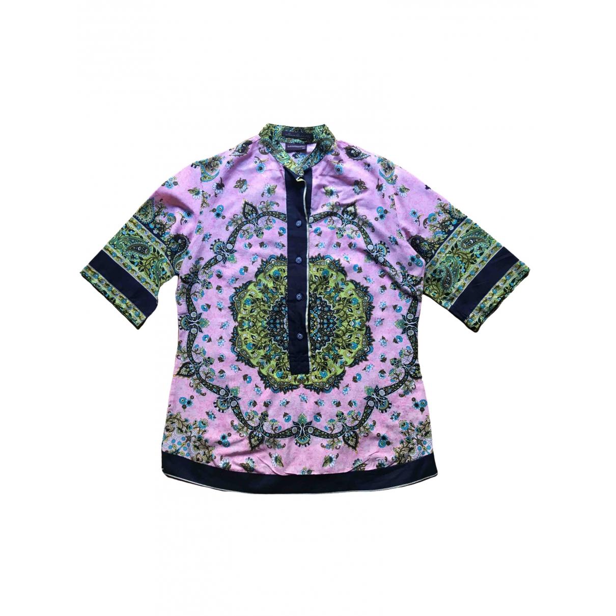 - Top   pour femme en coton - rose