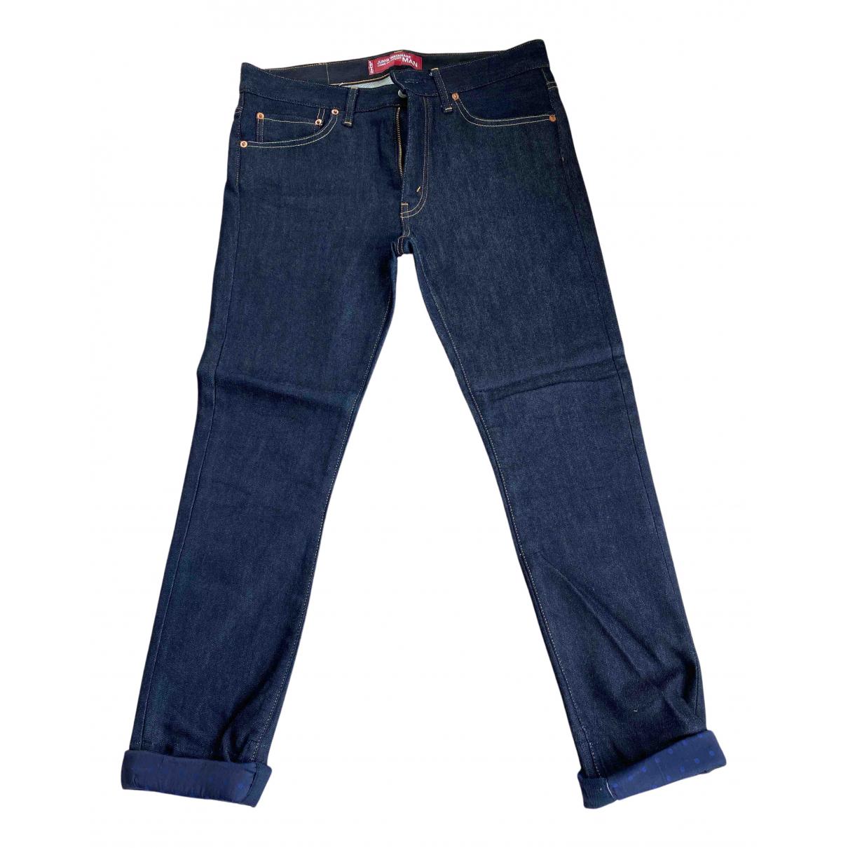 Junya Watanabe N Blue Cotton Jeans for Men M International