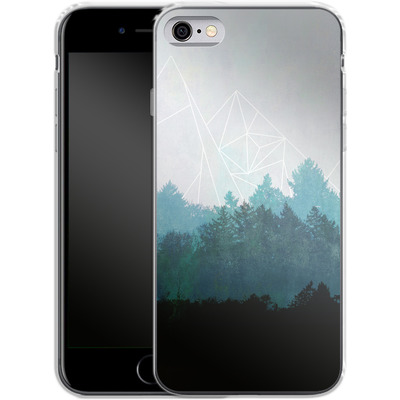 Apple iPhone 6 Silikon Handyhuelle - Woods Abstract von Mareike Bohmer