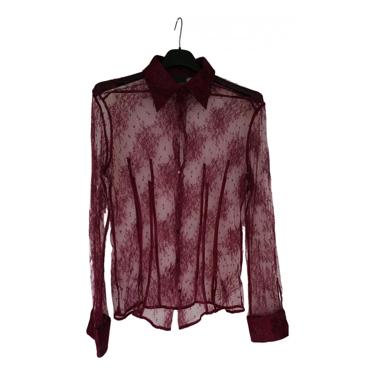 La Perla \N Pullover in  Bordeauxrot Seide