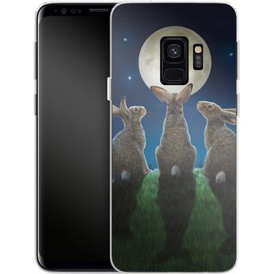Samsung Galaxy S9 Silikon Handyhuelle - Moonshadows von Lisa Parker