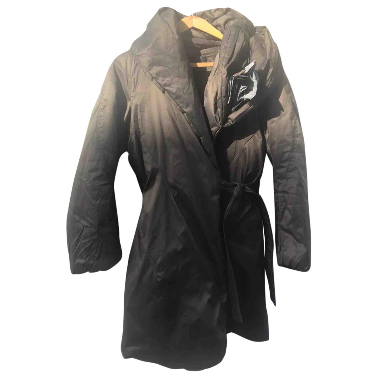 Ermanno Scervino \N Brown coat for Women 46 IT