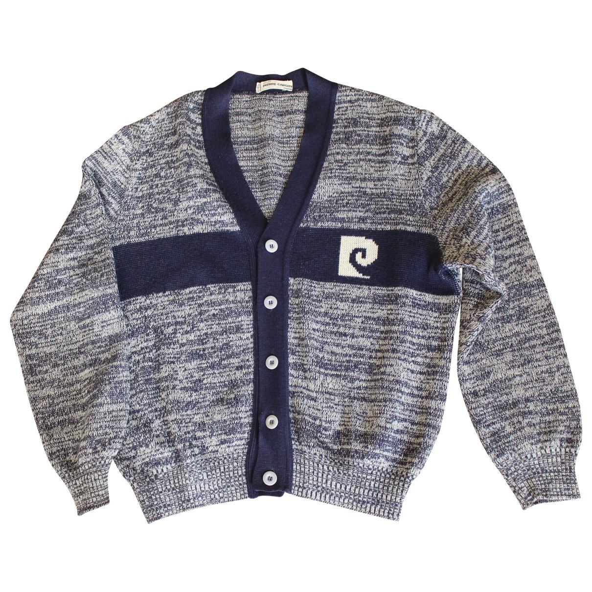 Pierre Cardin \N Blue Wool Knitwear & Sweatshirts for Men 5 0 - 6