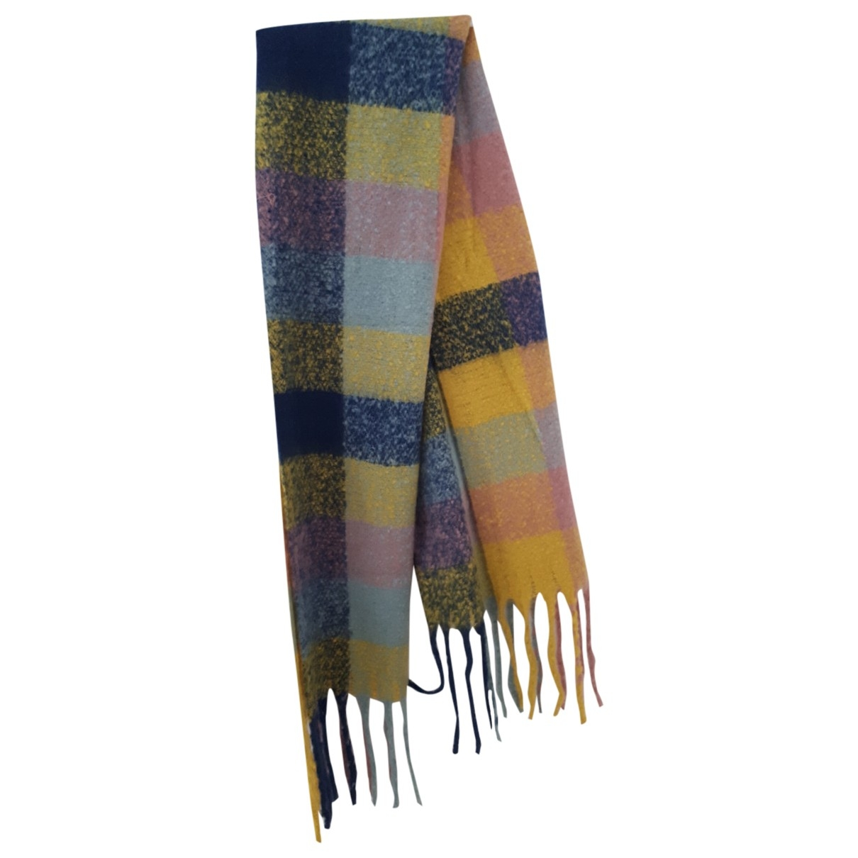 Non Signé / Unsigned \N Multicolour scarf for Women \N