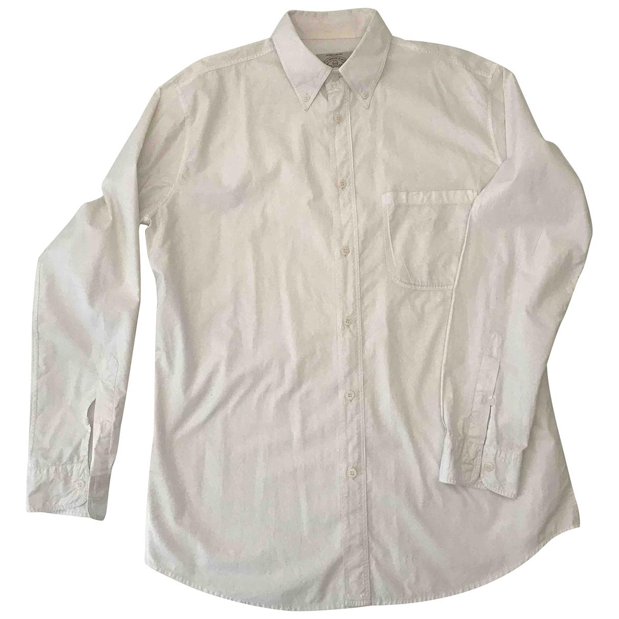 Armani Jeans \N Hemden in  Weiss Baumwolle