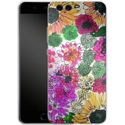Huawei P10 Silikon Handyhuelle - Fiore Sunshine von Amy Sia