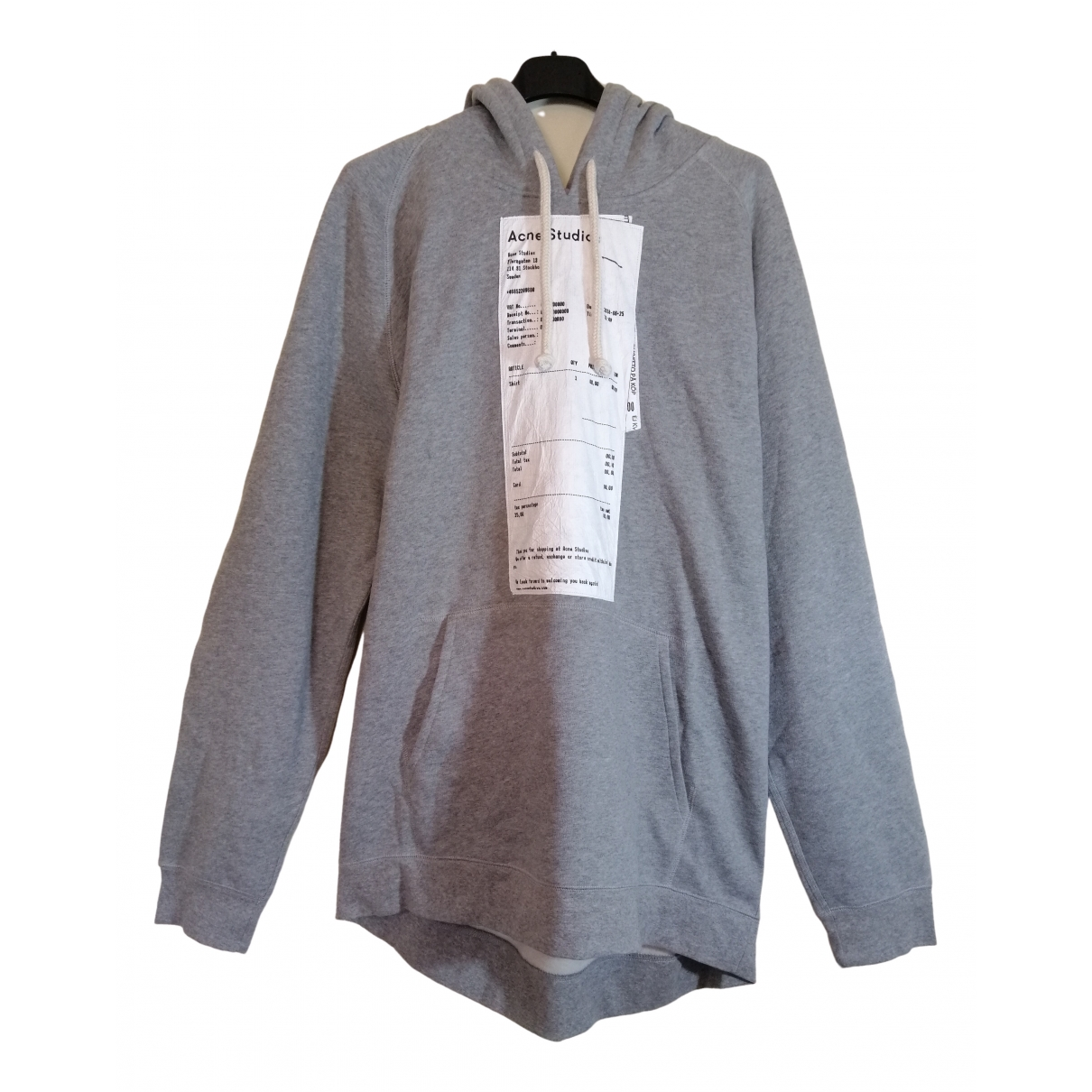 Acne Studios \N Grey Cotton Knitwear & Sweatshirts for Men M International