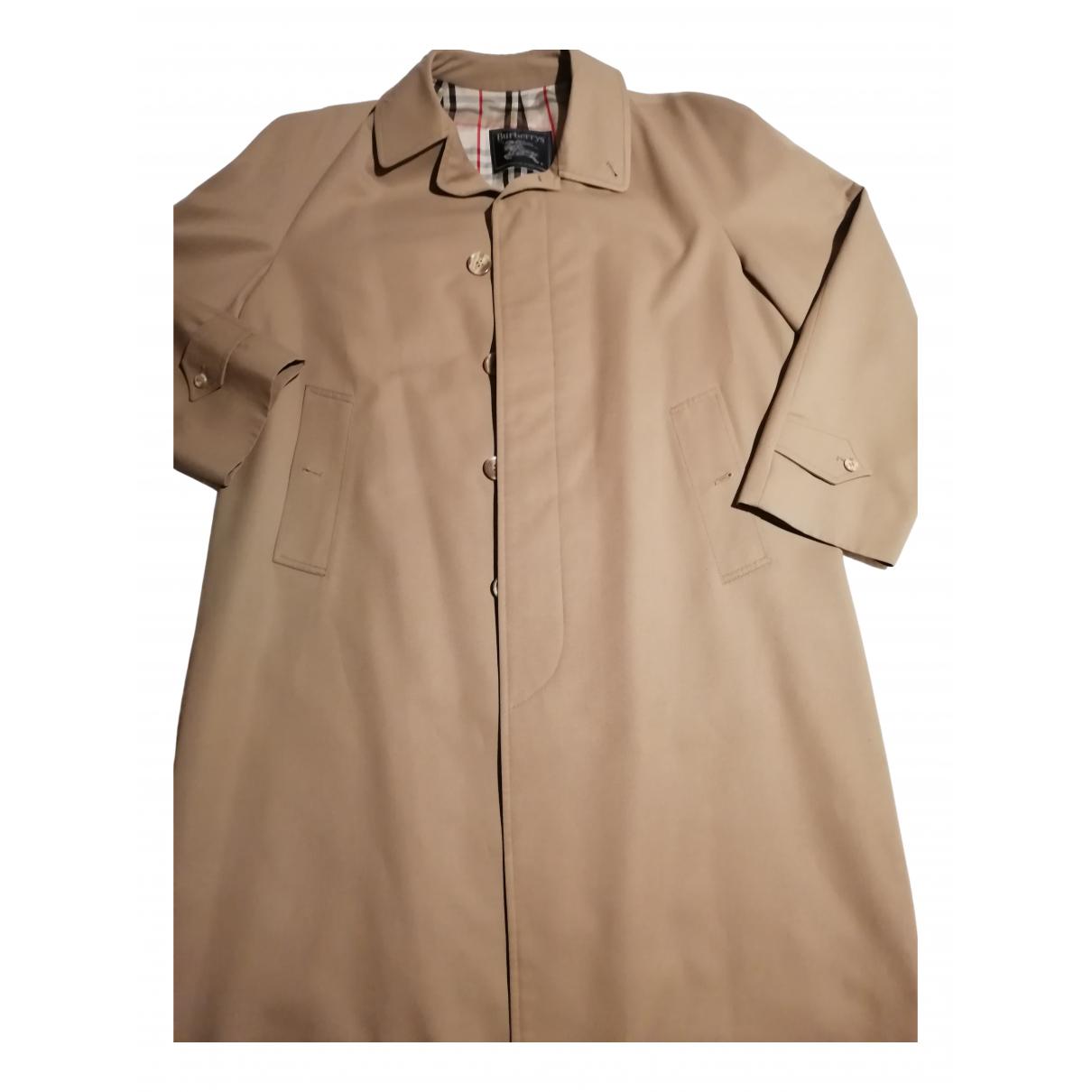 Burberry N Beige Cotton coat  for Men L International