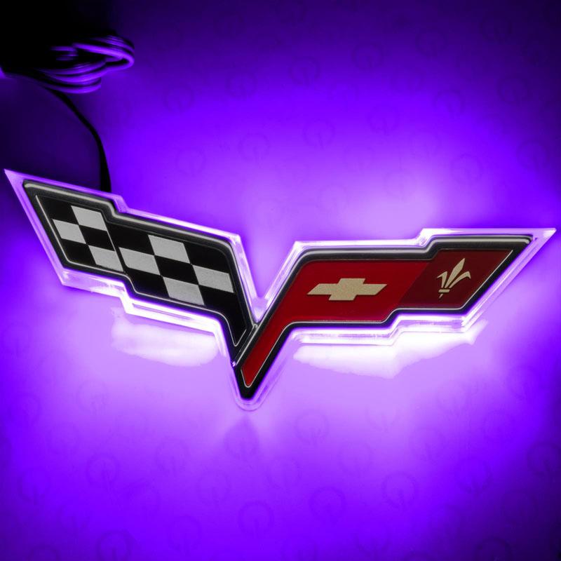 Oracle Lighting 3099-007 Chevrolet Corvette C6 Illuminated Emblem