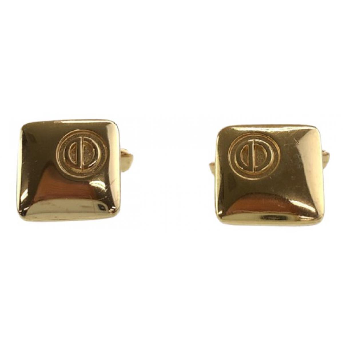 Dior N Silver Metal Cufflinks for Men N
