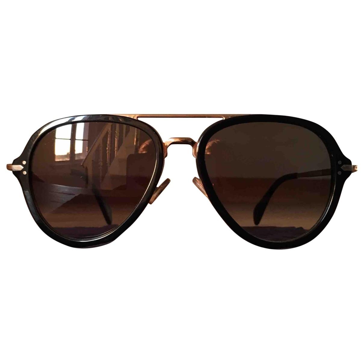 Celine \N Sonnenbrillen in  Schwarz Metall