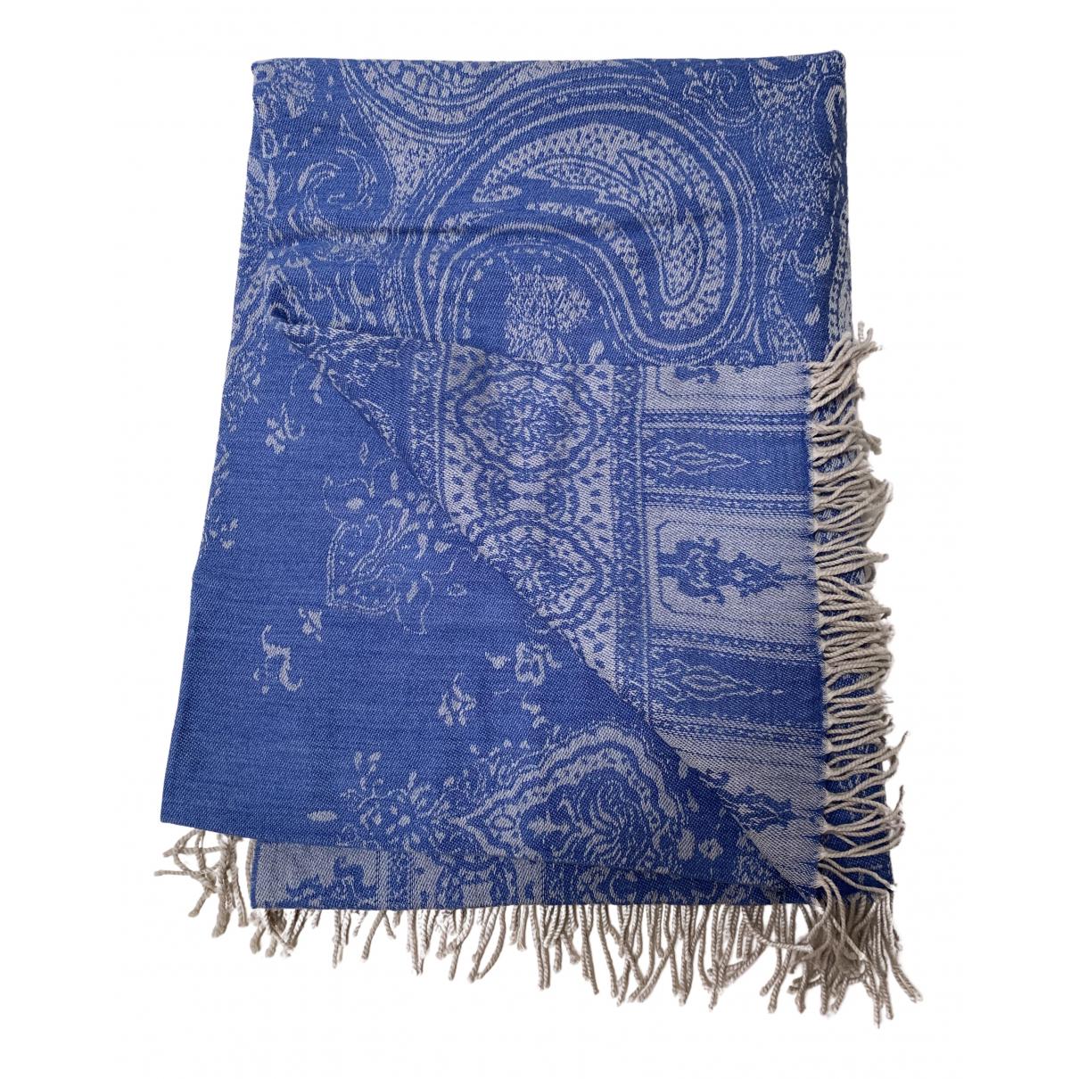 Etro - Linge de maison   pour lifestyle en laine - bleu