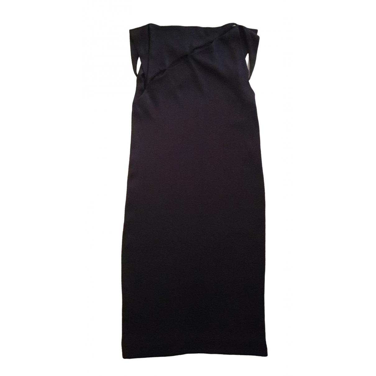 Bottega Veneta \N Kleid in  Braun Viskose
