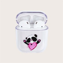 Airpods Huelle mit Panda Muster