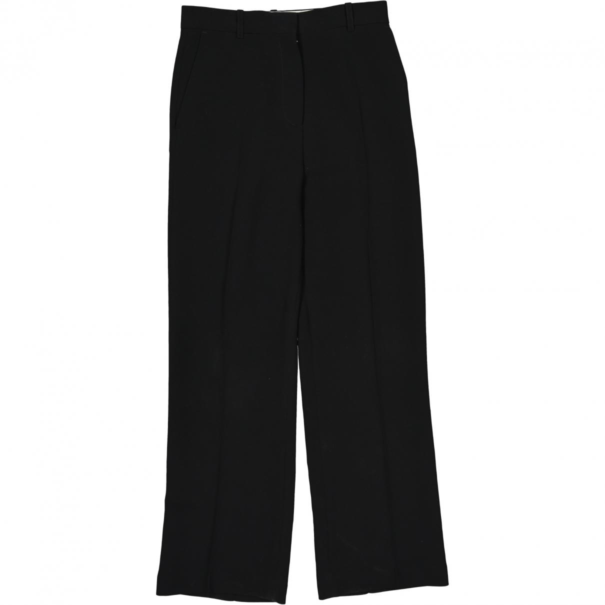 Acne Studios \N Black Trousers for Women 34 FR