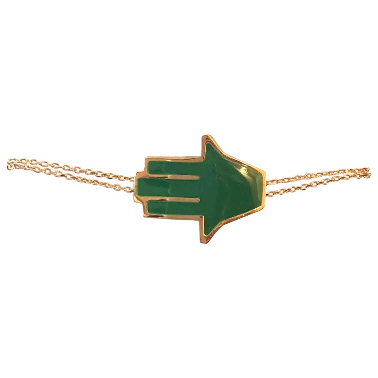 - Bracelet Motifs Religieux pour femme en argent - rose