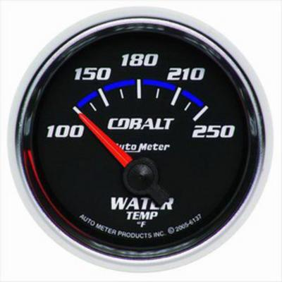 Auto Meter Cobalt Electric Water Temperature Gauge - 6137