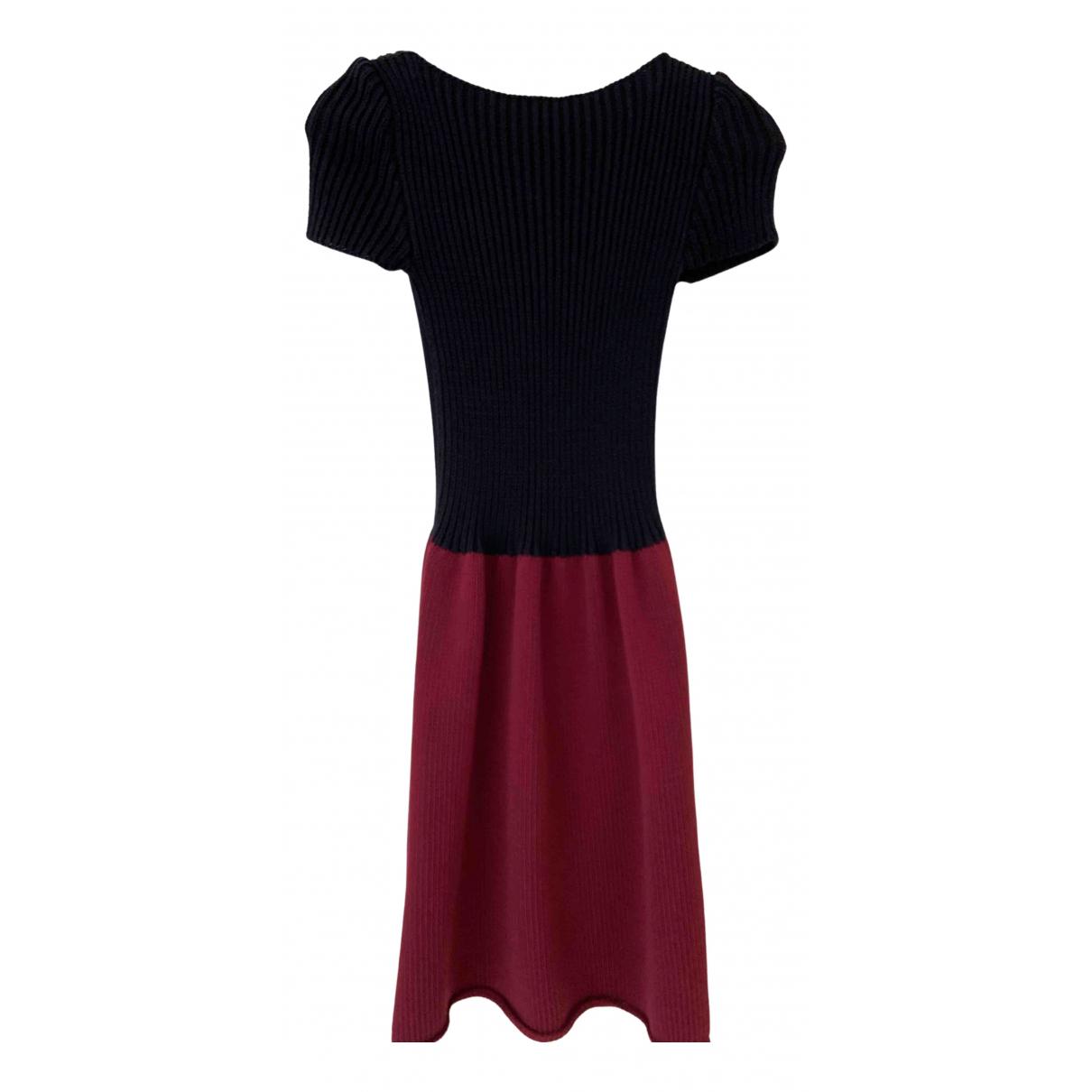 Miu Miu \N Blue Cotton dress for Women 38 IT