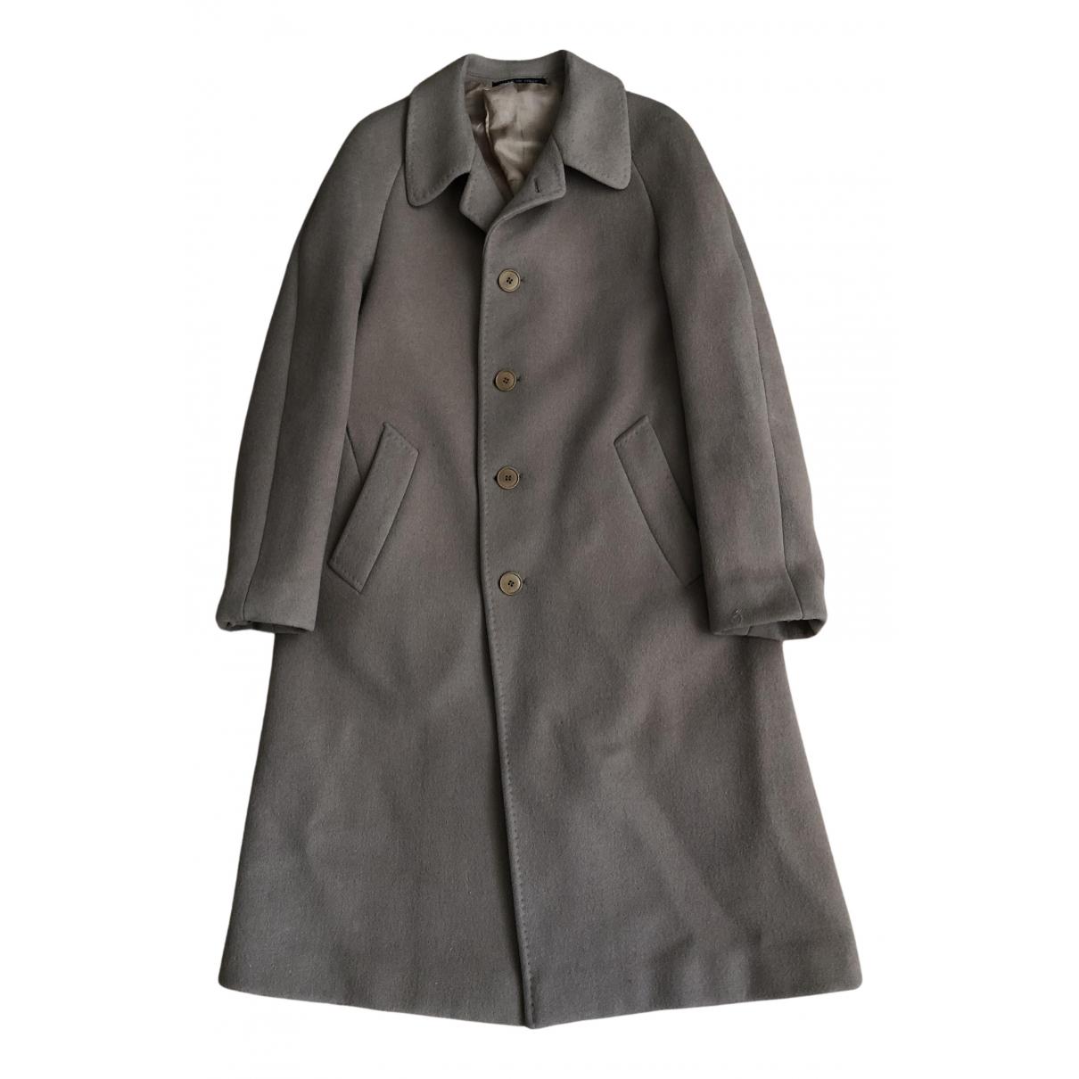 - Manteau   pour femme en laine - beige