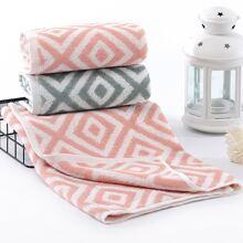 Absorbierendes Handtuch mit geometrischem Muster 1pc